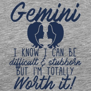 Star sign Gemini / Zodiac Gemini - Men's Premium T-Shirt