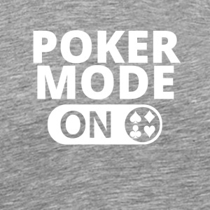 MODE ON POKER blackjack all in - Männer Premium T-Shirt