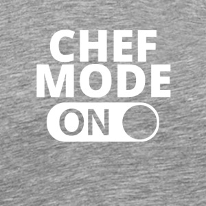 MODE ON CHEF - Herre premium T-shirt