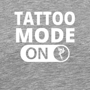 MODE ON TATTOO ink taetowiert - Männer Premium T-Shirt