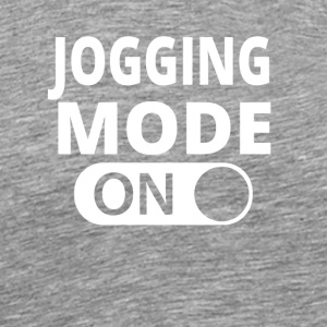 MODE ON jogging - Premium T-skjorte for menn