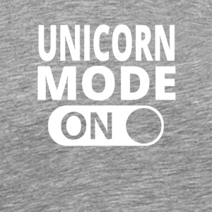 MODE ON UNICORN - Männer Premium T-Shirt