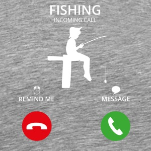 Call Mobile call fishing - Men's Premium T-Shirt