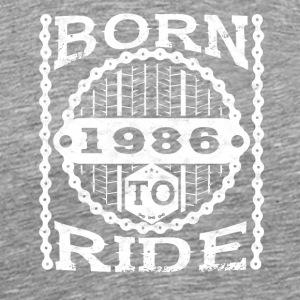 born to cycle - Men's Premium T-Shirt