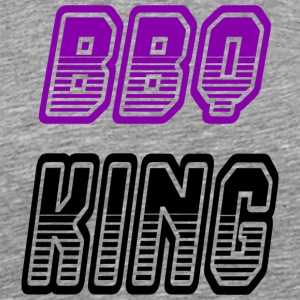 bbq king - Men's Premium T-Shirt