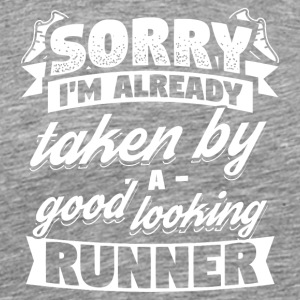 Runner already taken Running Shirt - Men's Premium T-Shirt