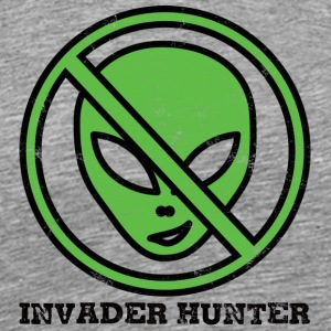 Alien / Zone 51 / UFO: Invader Hunter - T-shirt Premium Homme