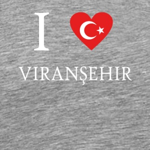 Love Tuerkiye Turkey ZONGULDAK VIRANS EHIR - Men's Premium T-Shirt