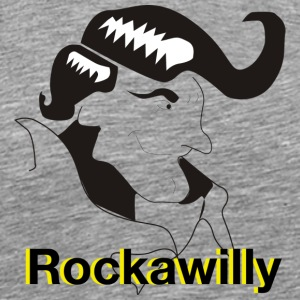 Rockawilly - Premium-T-shirt herr
