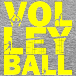 volleyboll - Premium-T-shirt herr