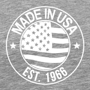Made in USA - Premium T-skjorte for menn