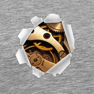 Wound Of A Machine-human Robot - Men's Premium T-Shirt