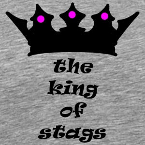 king of stags - Men's Premium T-Shirt