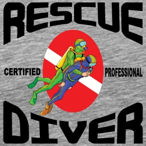 SCUBA Rescue Diver - Men's Premium T-Shirt