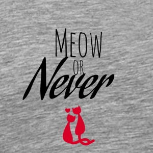Meow or Never - Men's Premium T-Shirt