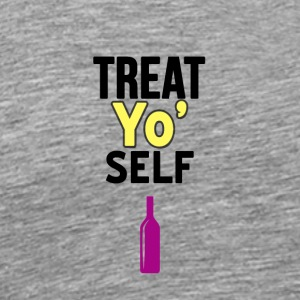 Behandel Yo Self - Mannen Premium T-shirt