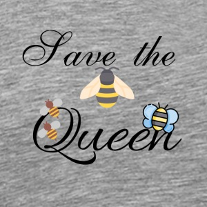Save the Queen - Mannen Premium T-shirt
