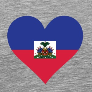 A Heart For Haiti - Men's Premium T-Shirt