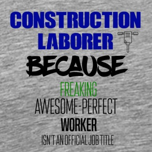 Construction laborer - Männer Premium T-Shirt