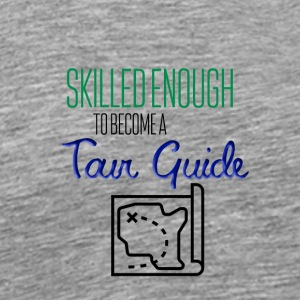 Tour guide - Premium T-skjorte for menn