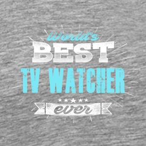 World's Best TV Schauer - Mannen Premium T-shirt