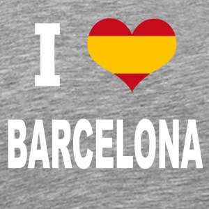 I Love Spain BARCELONA - Men's Premium T-Shirt