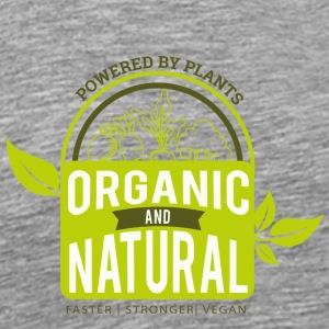 Plant Power vegans and vegetarians - Men's Premium T-Shirt