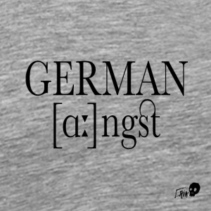 GERMAN ANGST - Men's Premium T-Shirt
