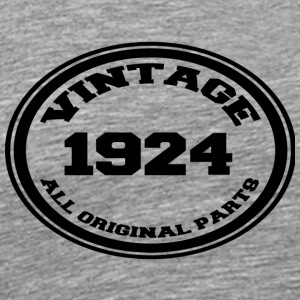 Year of birth 1924 - Men's Premium T-Shirt