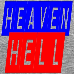 heaven hell - Men's Premium T-Shirt