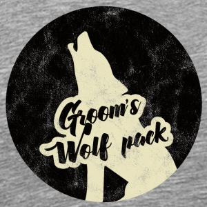 Bachelor party / JGA / Groom's Wolfpack - Men's Premium T-Shirt