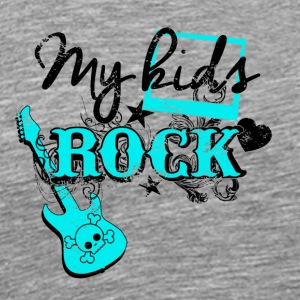 My kids rock - Men's Premium T-Shirt