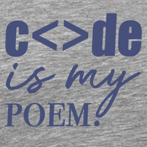 Code is my Poem | Animal Fashion - Männer Premium T-Shirt
