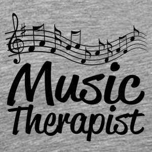 Music therapist - Men's Premium T-Shirt
