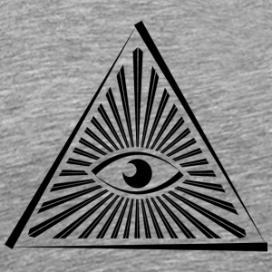 Illuminati - Premium T-skjorte for menn