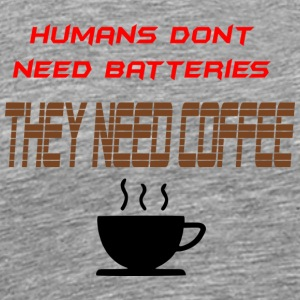 coffee - Men's Premium T-Shirt