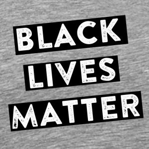 black livesmatter - Men's Premium T-Shirt
