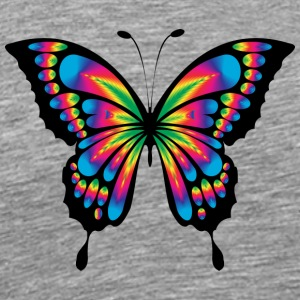 Butterfly - Abstract 4 - Premium T-skjorte for menn