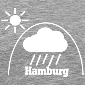 Hamburg unter Regenglocke Under the dome - Männer Premium T-Shirt