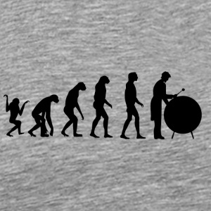 Evolution Drum / percussion - Herre premium T-shirt