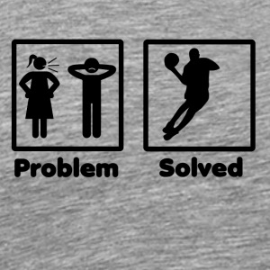 problem solved basketball dunking dunker bal - Men's Premium T-Shirt