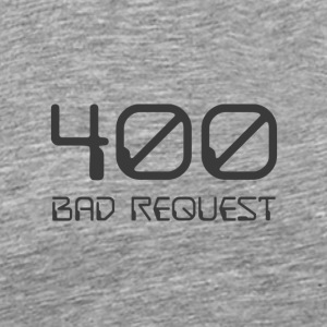 400 - bad request dark - Men's Premium T-Shirt