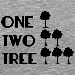 ONE-TWO-TREE-SF - Männer Premium T-Shirt