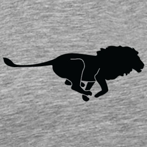A Lion-hunting - Men's Premium T-Shirt