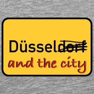 Duessel and the city - Men's Premium T-Shirt