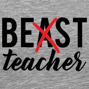 Teacher / School: Best Teacher - Men's Premium T-Shirt
