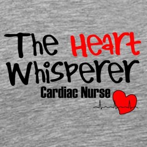 the heart whisperer Kardiologie - Männer Premium T-Shirt