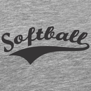 Softball - Premium-T-shirt herr
