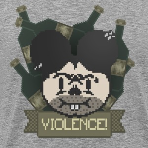Violent Mouse! - Men's Premium T-Shirt