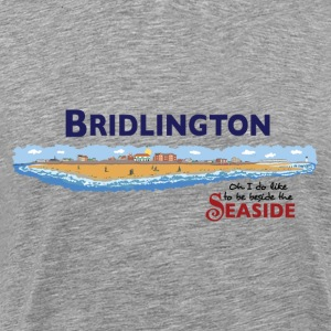 Bridlington Seaside - T-shirt Premium Homme
